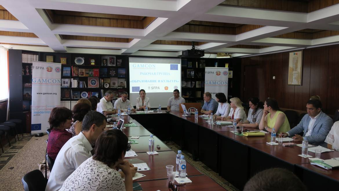Second Session of Working Group Education and Culture
