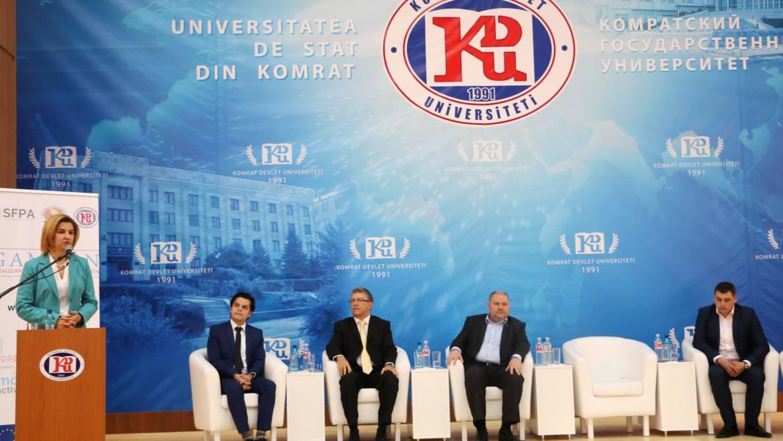 Пленарное заседание (официальное открытие проекта Конвенция Модернизации Гагаузии)