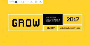 GaMCon at conferencde GROW 2017, Civic Gagauzia: Strenghtening civil society in Gaguzia