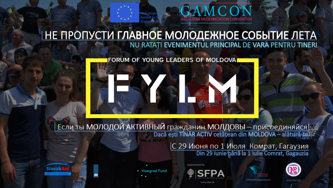 Registration for Forum of Young Leaders of Moldova (#FYLM) is now open!